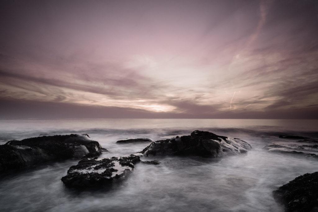 Opaal zonsondergang